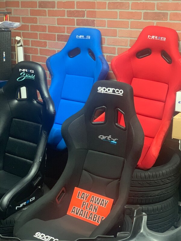 Stupendous Used Nrg Sparco Braum Racing Seats For Sale In Whittier Machost Co Dining Chair Design Ideas Machostcouk