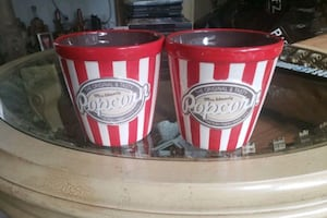 popcorn glass buckets price for both 6'