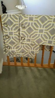 4 NEW CONDITION  DRAPES FROM HOME SENSE 30 for the