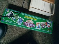 1990 Baseball Complete Set trading card with box