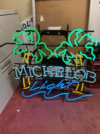 Vintage Neon Michelob Light Beer Sign - REDUCED