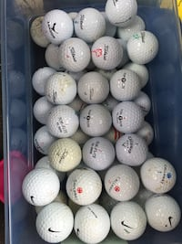 50-piece Mixed Golfball Lot Frederick, 21701