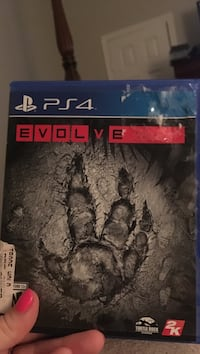 Evolve Sony PS4 game case Lafayette, 70508
