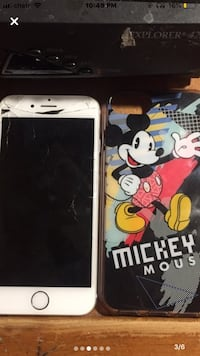 iPhone 6 Unlocked,Has Cracks Battery is pretty good Comes with case Mississauga, L4T 1W5