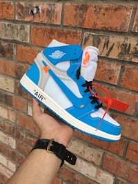 Nike bby blue off white San Antonio, 78221