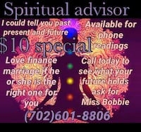 Psychic reading Las Vegas