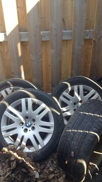 Bmw winter tires all 4 give me a offer Barrie, L4N 4J3