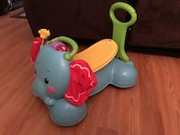 Fisher Price 3 in 1 bounce, stride and ride elephant Palm Coast, 32164