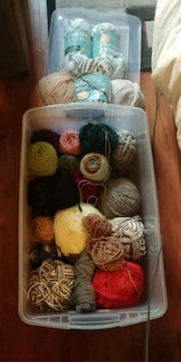 31 skeins yarn lot Surrey, V3R 3N9