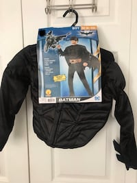 Brand new Batman Halloween costume size: M (8-10) (pick up only) Alexandria, 22304