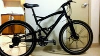 black full-suspension bike Winnipeg, R2W 0X7
