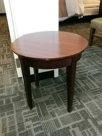 Inexcess round side table Oakville