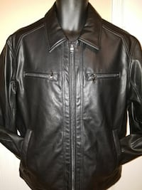 Brand New Men's  Kors Leather jacket with tags. Si