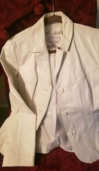 White Leather,Ladies Blazer Jacket Parkville, 21234