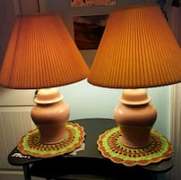 Two matching Lamps
