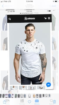 Sarman Men's T-shirt for sale 29.99$ FREE Shipping