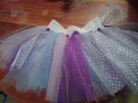 white, teal, and purple tutu skirt Augusta, 30906