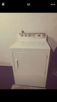 white front-load clothes dryer Ypsilanti, 48198