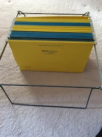 Hanging file folders - with stand Toronto, M6B