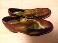 pair of brown leather shoes Nauvoo, 35578