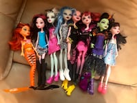 Monster High Doll Lot Columbia, 21045