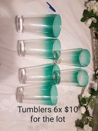 clear glass pitcher and drinking glasses Toronto, M5S 1Z5