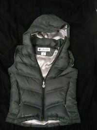 gray Columbia zip-up bubble gilet Bethlehem, 18015