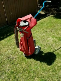 Dura bag golf bag with wheels Winnipeg, R2C 0X2