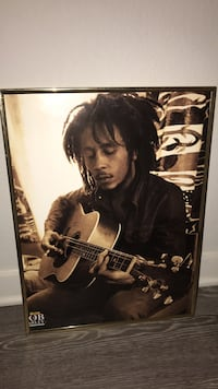 Mint Condition Bob Marley Picture w/ Frame Lubbock, 79401