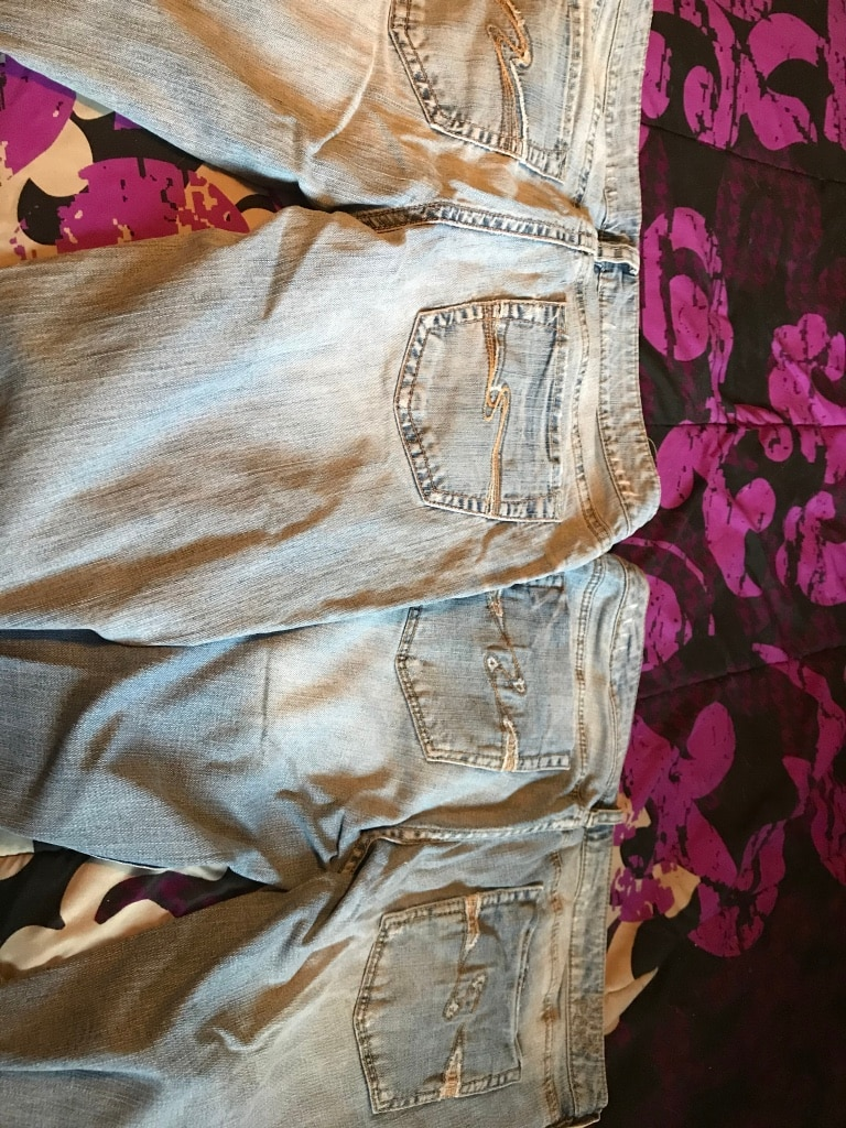 Photo 2prs of Silver Jeans