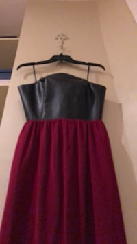 women's black and red sleeveless dress Washington, 20001