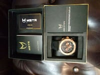 New in the box ambassador watch rise gol and black Islip, 11751