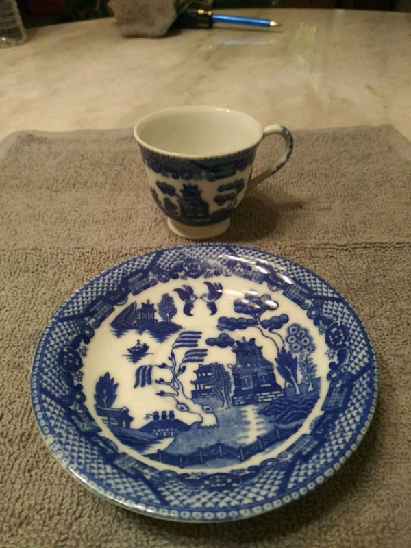 1945 occupied in Japan cup and saucer
