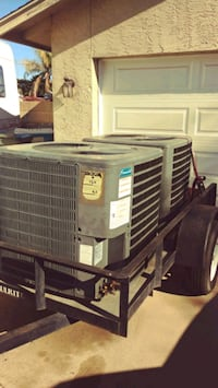 Goodman 5ton 13seer R22 heatpump condenser units (2) both Run perfect. Glendale, 85304