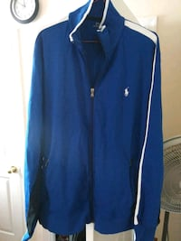 blue and black and white polo jacket Oxon Hill, 20745