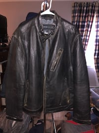 Andrew marc leather jacket Weston, 02493