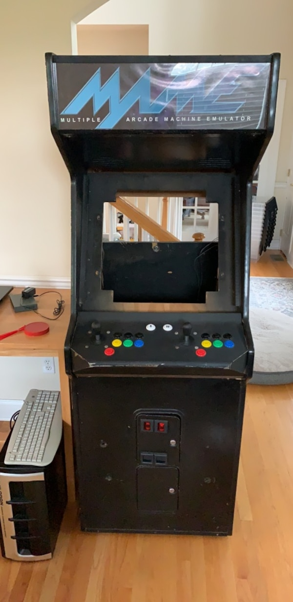Brilliant Mame Arcade Cabinet For Sale Download Free Architecture Designs Crovemadebymaigaardcom