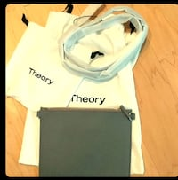 Gray theory clutch with strap  Vienna, 22182