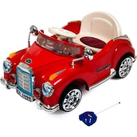 Battery Powered Red Classic Car Coupe Ride on Toy with Remote   Toronto, M1H 2A1