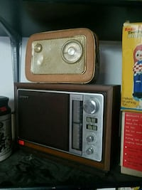 brown and black transistor radio Brampton, L6V 1N6