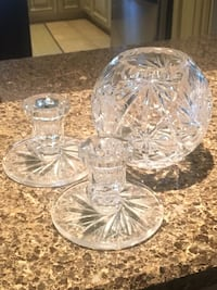 clear cut glass bowl and bowl Stoney Creek, L8G 1E3