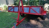 red heavy duty dump utility trailer Commerce, 30529
