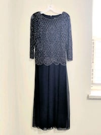 Navy sequined dress - size 6 Toronto, M4P 1Y5