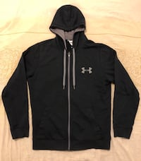 Black zip up under armour hoodie  Toronto, M6M