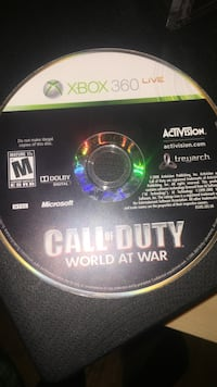 Xbox 360 Call of Duty Black Ops 2 game disc