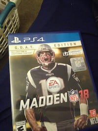 Madden NFL 18 PS4 G.O.A.T edition Tucson, 85710