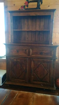 Rustic Oak Hutch Picture Butte, T0K 1V0