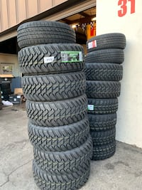 New Tires All Sizes Message Me For Quote  San Jose