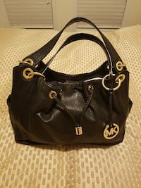 MICHAEL KORS BLACK LEATHER PURSE! Vaughan, ON, Canada