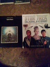 two Mystic Places and Star Trek books